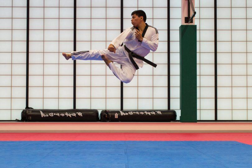 Débuter les arts martiaux